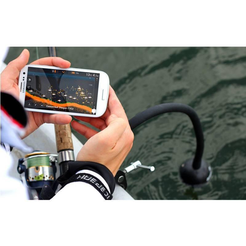 Обзор портативного ios-эхолота deeper fishfinder для рыбаков