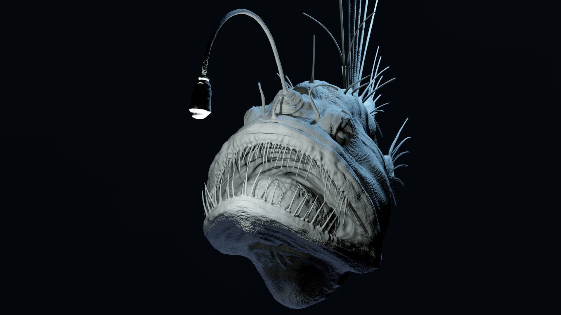Подробности о рыбе «морской чёрт»: от среды обитания глубоководного удильщика до места в кулинарии