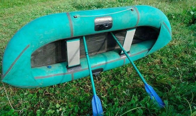 Резиновая лодка «уфимка» - цена 2 местной лодки и ее ремонт