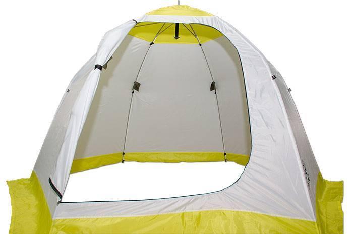 Как выбрать качественную зимнюю палатку