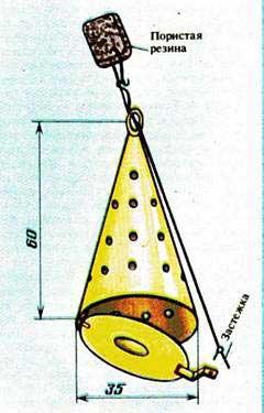 Кормушка для зимней рыбалки своими руками