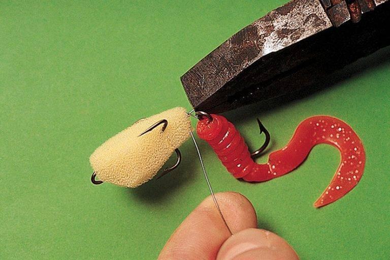 Изготовление силиконовых наживок заливкой в форме своими руками