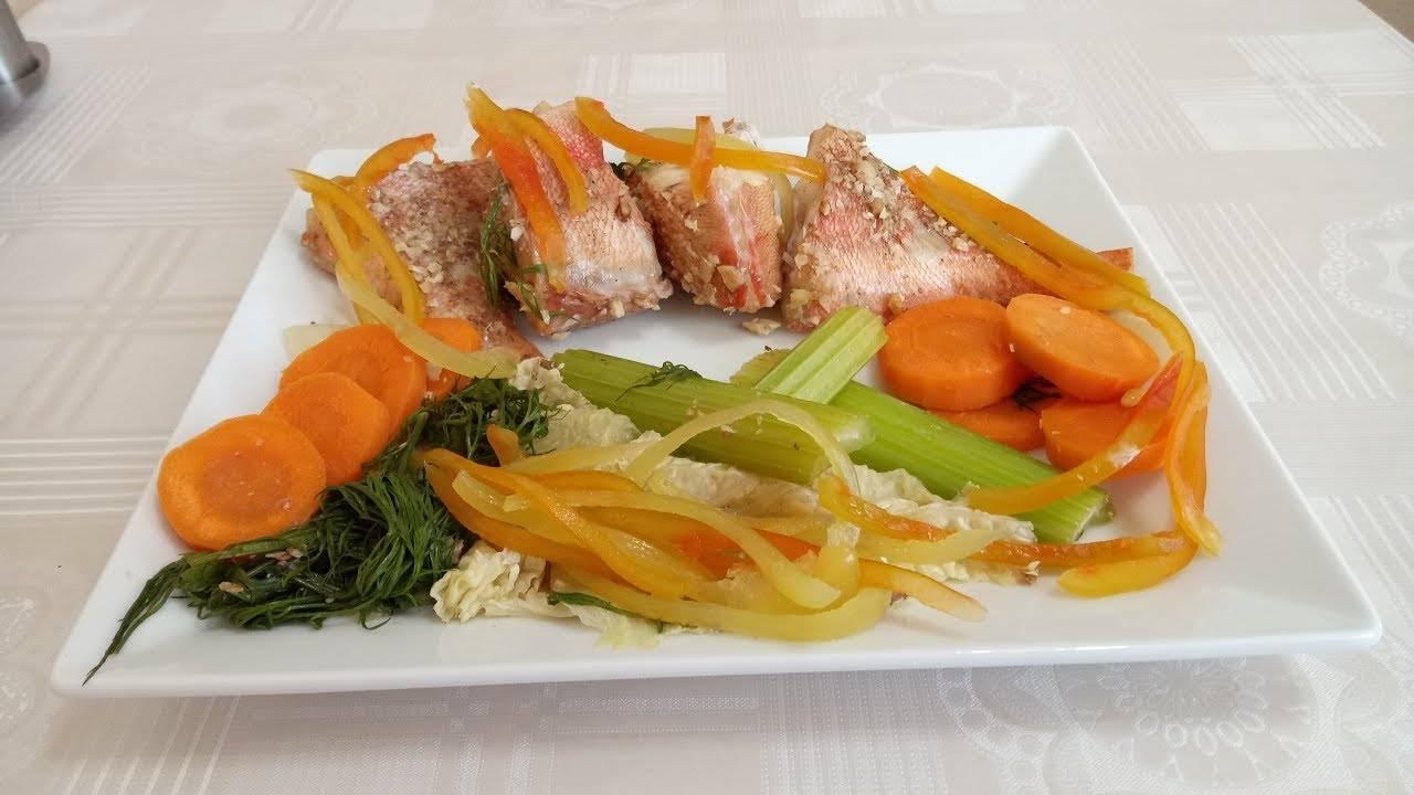 Блюда из рыбы и морепродуктов в мультиварке - рецепты