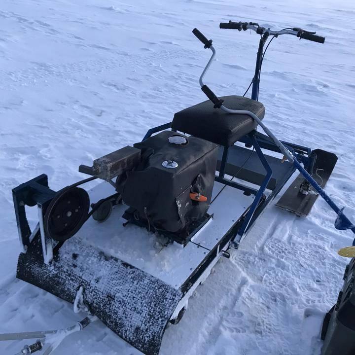 Снегоходы для зимней рыбалки - мотоснег