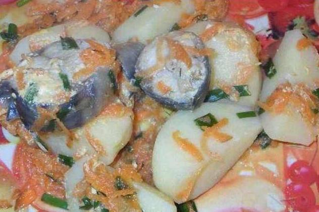Рыба с картошкой в мультиварке. как приготовить рыбу с картошкой в мультиварке: рецепты