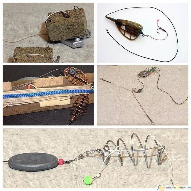 Закидушки своими руками - как сделать с резинкой, с кормушкой для сома, карася, щуки и карпа