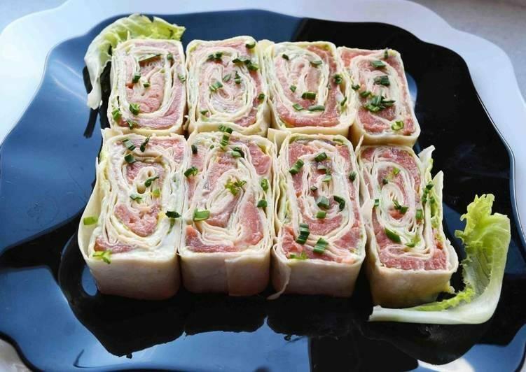 Рулет из лаваша с сыром - 90 рецептов приготовления пошагово - 1000.menu